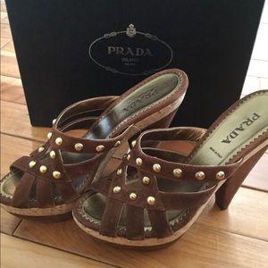 Prada New in Box Heels size 39